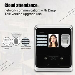 Clocking In Face Recognition Attendance Time Clock Fingerprint Machine password