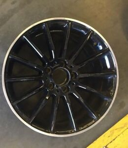 Oem Bmw 20 Factory Front Black Wheel Rim Alpina B7 2017 86320 1 Bp