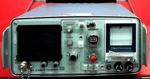 Tektronix 1502 Time Domain Reflectometry Cable Tester S n R117480