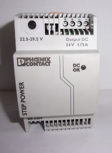 Phoenix Contact 2868648 Power Supply 100 240 Volt 24 Volts New Take Out