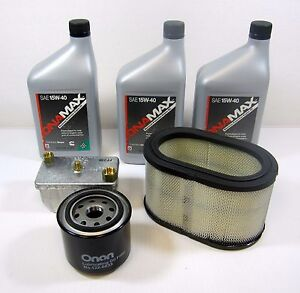 Onan Oem Tune Up Parts Kit W Oil For Rv Quiet Diesel Generator Hdkaj Spec A l