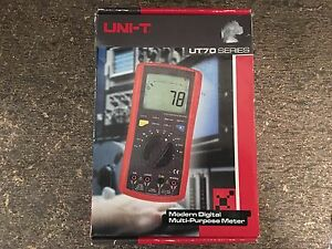 New Uni t Ut70b Portable Handheld Intelligent Digital Multimeter Meter Ut 70b