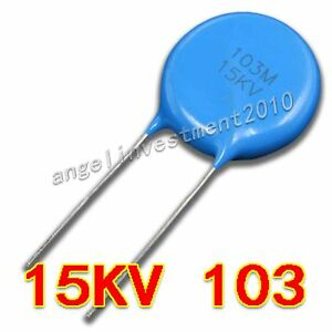 New High Voltage Ceramic Capacitor 15kv103 15000v 0 01 f 10nf 10000pf