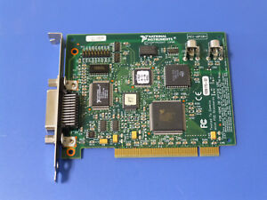 National Instruments Pci gpib Controller Analyzer Card 183617 02