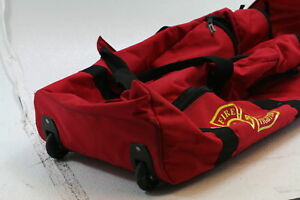 Arsenal 5005w Large Nylon Rolling Firefighter Rescue Turnout Fire Gear Bag