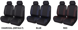 Pair Textured Neoprene Seat Covers For Mg Mga Rwd Coupe