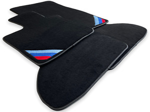 Bmw 4 Series F33 F33lci Black Floor Mats With m Power Emblem Lhd Clips