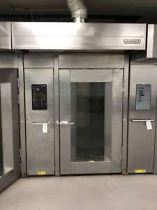 Hobart Double Rotating Rack Natural Gas Oven Model Hba2g