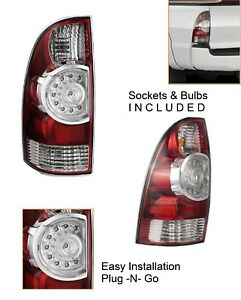 New Replacement Driver Left Side Led Tail Brake Light For 2005 15 Toyota Tacoma