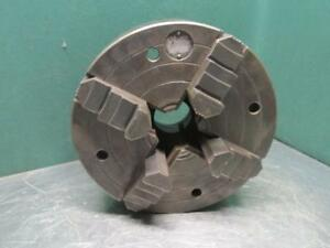 Cushman 1214ce3 Metal Lathe Chuck 12 Dia Independent 4 Jaw L0 Mount