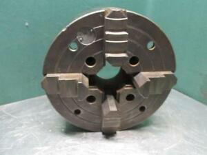 Cushman 1214c Metal Lathe Chuck 12 Dia Independent 4 Jaw Plain Back