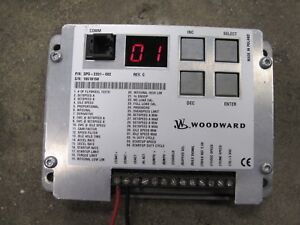 Woodward Dpg 2201 002 Electronic Engine Governor Control generator Free Shipping
