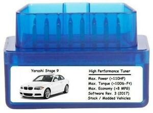 Stage 9 Performance Power Tuner Chip Add 110 Hp 8 Mpg Obd Tuning For Ford