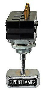 1970 Ford Mustang Mach 1 Sportlamp Light Switch Assembly 70 10256 New