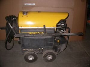 Landa Hot Water Diesel electric Pressure Washer Ohw4 30024b 3 phase