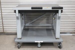 Newport Optical Table W Pneumatic Self Level Isolation 46 X 36 X 41 4 Top