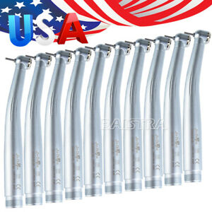 10pcs Nsk Style Dental Pana Max Su Standard Push High Speed Handpiece 2hole Usps
