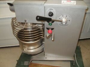 Univex Srm12 12qt Mixer With Stainless Steel Bowl