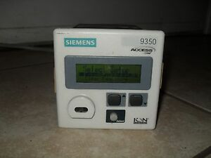 Siemens 9350dc 100 0nzzza Access Power Meter ion Tested Powers Up Great