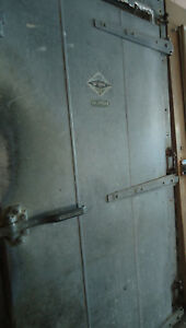 Vintage Walk in Cooler Freezer Door Jamison last One
