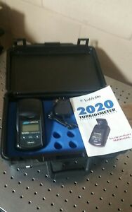 Lamotte Handheld Turbidity Meter 2020 With Carry Case And Power Adapter