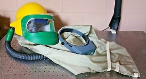Bullard Airline Respirator Hoods Helmet Face Shield
