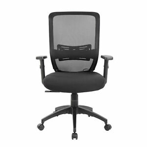 Eurosports Lumbar Mid back Mesh Desk Chair