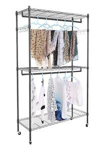 Hanging Display Rack For Clothes Cheesea Clothes Display Rack Store With 3