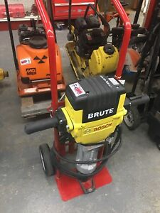 Used Bosch Brute Breaker Hammer Demolition Concrete Breaker Basic Demolition