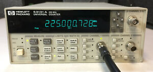 Hp 53131a 225mhz Universal Counter With Option 030