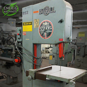 Doall 2013 v Vertical Band Saw