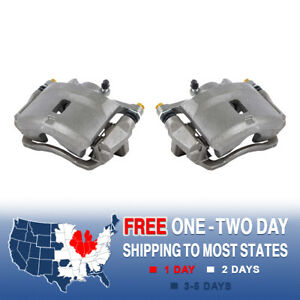 Front Brake Calipers Pair For 2001 2002 2003 2004 2005 Honda Civic Dx Lx Hx