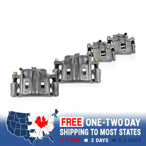 Front And Rear Brake Calipers For 2006 2007 2008 Dodge Ram 1500 2wd 4x4 4wd