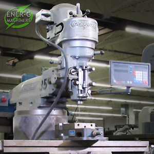 Bridgeport Series I J head Vertical Milling Machine