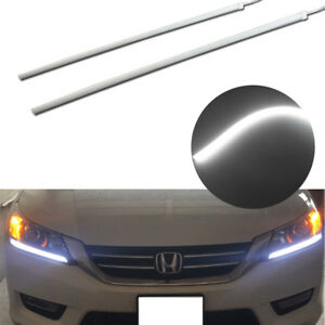 2013 2015 Honda Accord Headlight Drl Diy Led Strip Light Even Illuminating