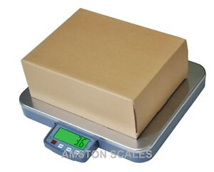 200 X 0 05 Lb Shipping Scale 16 X 14 Steel Tray Postal Postage Compact Portable