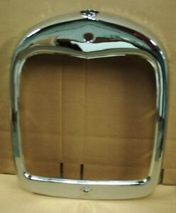 1928 1929 Model A Ford Stock Grill Shell Chrome Coupe Sedan Roadster Pickup
