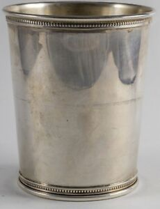 Reed Barton Sterling Silver Mint Julep Cup Lafayette Galleries Jec