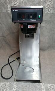 Commercial Bunn Airpot Thermal Coffee Maker Brewer Cwt15 aps Works No Top Cover