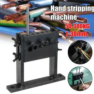 Hand Tool Manual Scrap Cable Wire Stripping Peeling Machine Stripper For 1 30mm