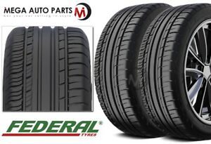 2 New Federal Couragia F X 315 35zr20 106w All Season Performance Suv Tires