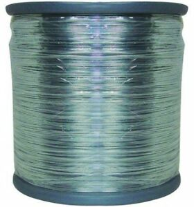 Horse Fence 1 2 Mile 17 gauge Galvanized Steel Electric Wire Durableheavy Duty