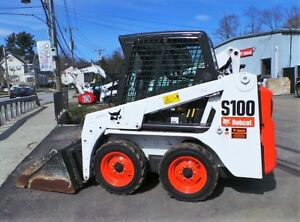 Bobcat S100 Skid Steer Loader Heat Bucket