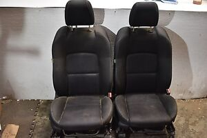 2006 2007 Mazdaspeed6 Front Black Seat Set 06 07