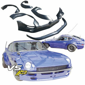 Vsaero Frp Tkyo Wide Body Kit 2 Seater For Datsun 240z S30 70 73