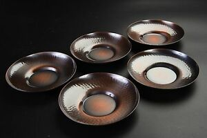 Saucer For Tea Cup Copper Chataku Takaoka Doki Product