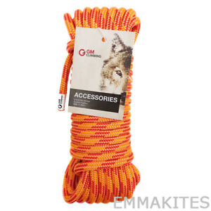 11 5mm 30kn Double Braid Polyester Rigging Rope Line For Tree Climbing Hauling
