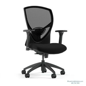 Quality 16 Mesh Made In Usa Chairs Office Conference Task Adjustable Arms