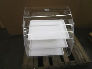 Vollrath Elbc 2 Euro Countertop See Through Self Serve 3 Tier Bakery Pastry Case