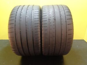 2 Nice Tires Michelin Pilot Super Sport 295 30 20 Zr 101y 66 Life 18747